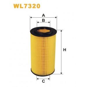 Filtro aceite Wix WL7320