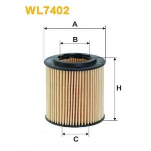 Filtro aceite Wix WL7402