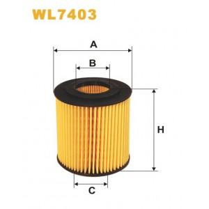 Filtro aceite Wix WL7403