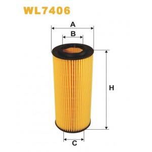 Filtro aceite Wix WL7406