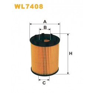 Filtro aceite Wix WL7408