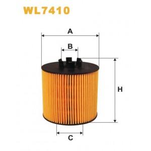 Filtro aceite Wix WL7410