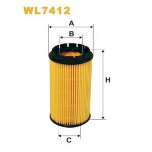 Filtro aceite Wix WL7412