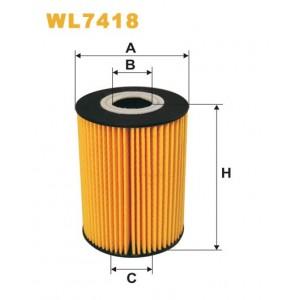 Filtro aceite Wix WL7418