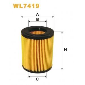 Filtro aceite Wix WL7419