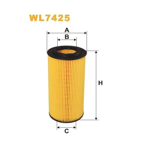 Filtro aceite Wix WL7425