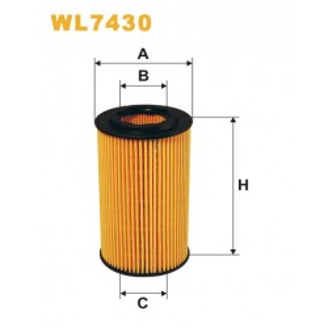 Filtro aceite Wix WL7430