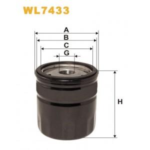 Filtro aceite Wix WL7433