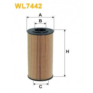 Filtro aceite Wix WL7442