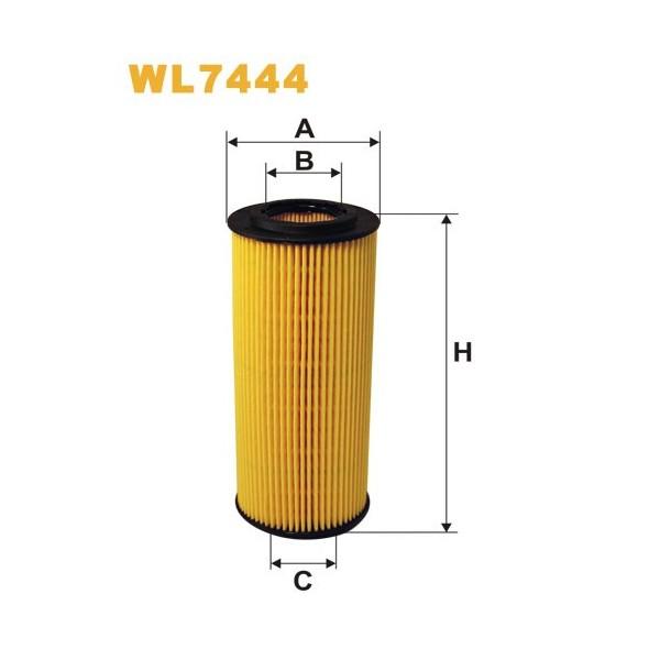 Filtro aceite Wix WL7444