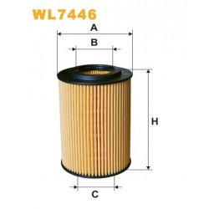 Filtro aceite Wix WL7446