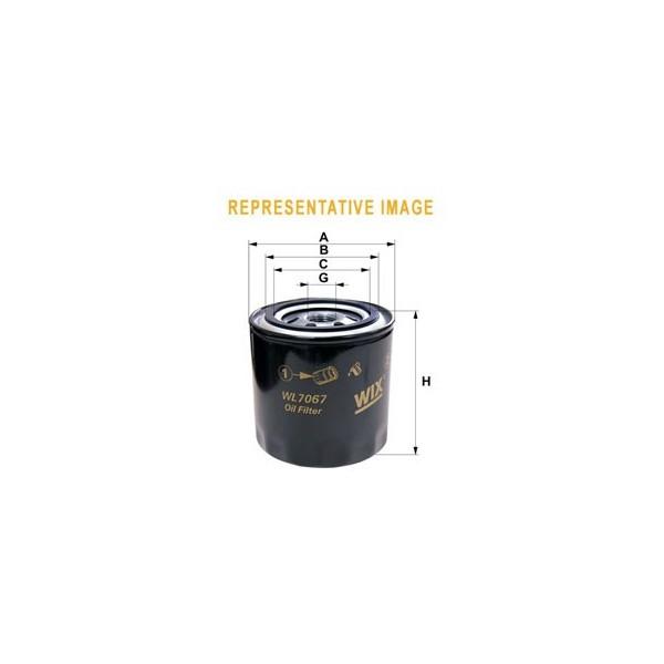 Filtro aceite Wix WL7452