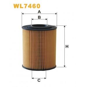 Filtro aceite Wix WL7460