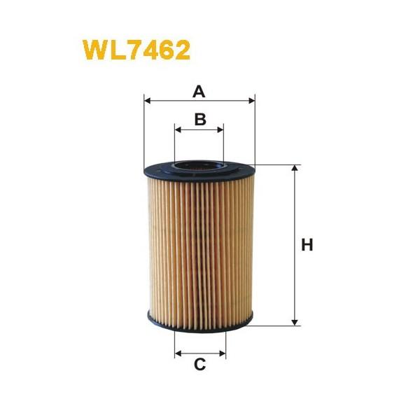 Filtro aceite Wix WL7462