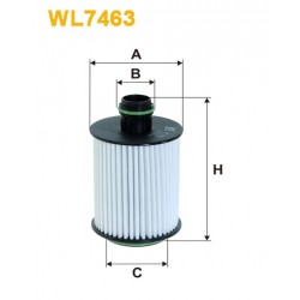 Filtro aceite Wix WL7463