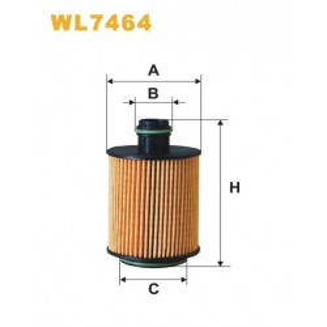 Filtro aceite Wix WL7464
