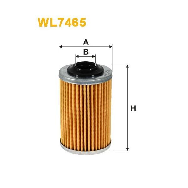 Filtro aceite Wix WL7465