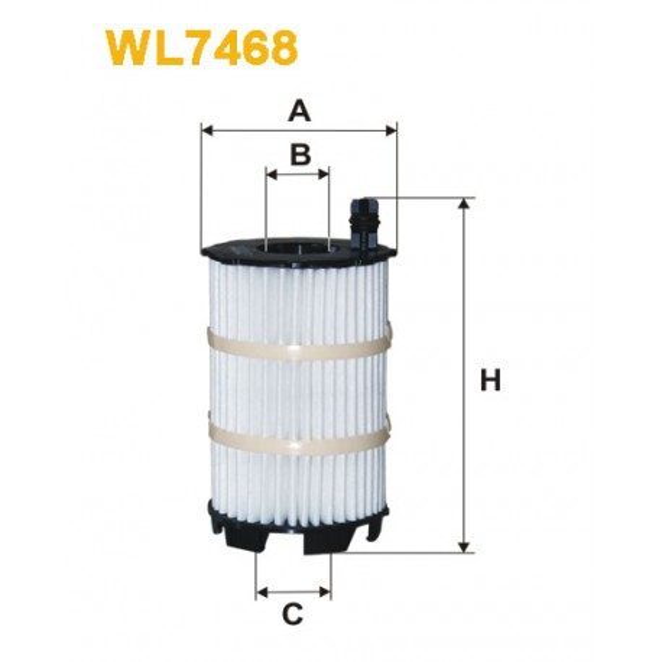 Filtro aceite Wix WL7468