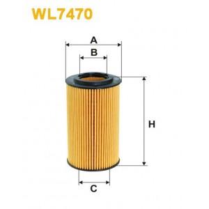 Filtro aceite Wix WL7470