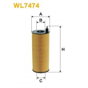 Filtro aceite Wix WL7474