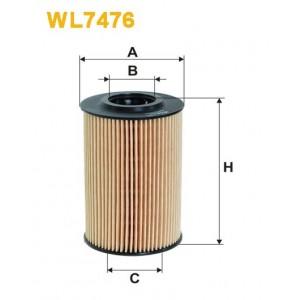 Filtro aceite Wix WL7476