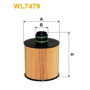 Filtro aceite Wix WL7479