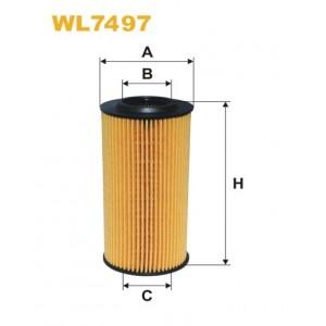 Filtro aceite Wix WL7497