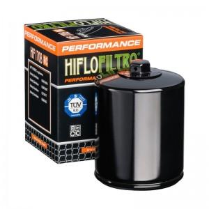 FILTRO DE ACEITE MOTO (NEGRO RACING) HF170BRC