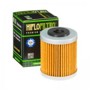 FILTRO ACEITE MOTO HF651