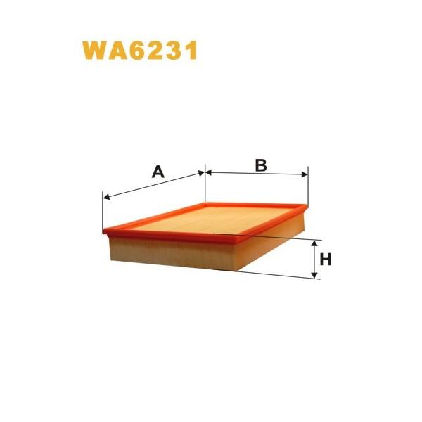FILTRO DE AIRE WA6231