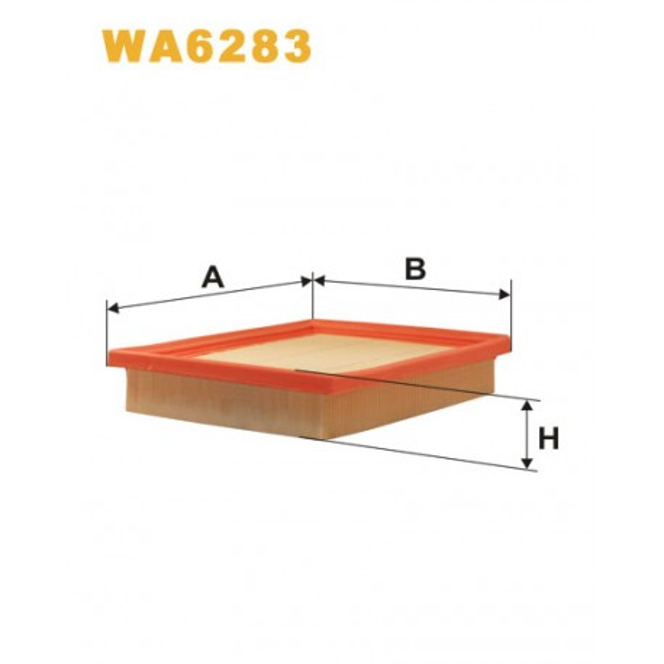 FILTRO DE AIRE WA6283
