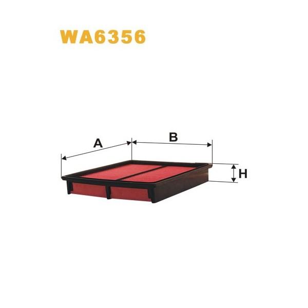 FILTRO DE AIRE WA6356