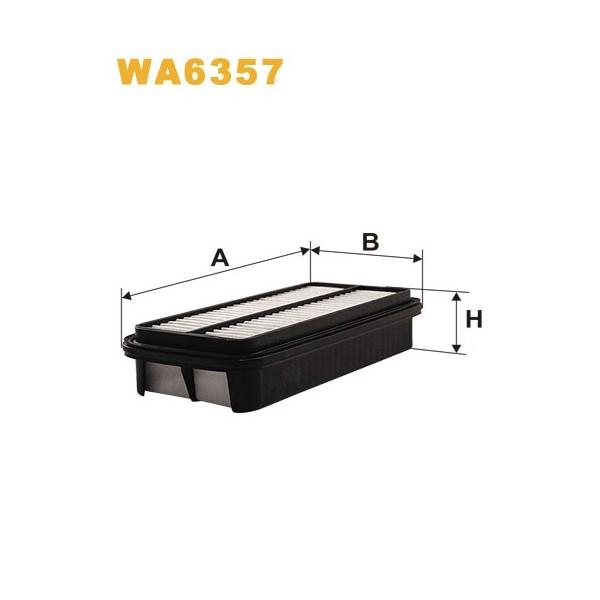 FILTRO DE AIRE WA6357
