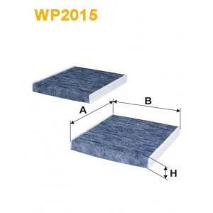 FILTRO WIX DE HABITACULO CON CARBON ACTIVO (X2) WP2015