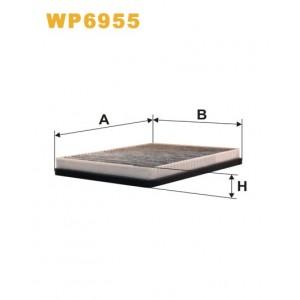 FILTRO WIX DE HABITACULO CON CARBON ACTIVO (X2) WP6955
