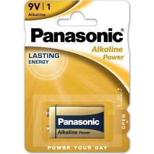 PANASONIC PILA ALCALINA 6LR61 9V