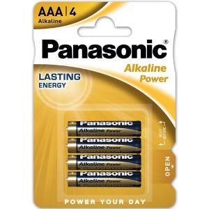 PANASONIC BLISTER 4 PILAS ALCALINAS AAA LR3-AP 1,5V