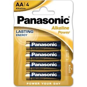 PANASONIC BLISTER 4 PILAS ALCALINAS AA LR6-AP-AA 1,5V
