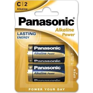 PANASONIC BLISTER 2 PILAS ALCALINAS C LR14-AD-C 1,5V