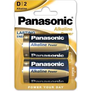 PANASONIC BLISTER 2 PILAS ALCALINAS C LR20-AD-D2 1,5V