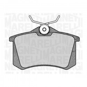 PASTILLAS FRENO MAGNETI MARELLI 363916060144