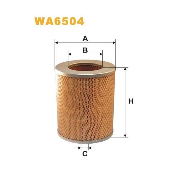 FILTRO DE AIRE WA6504