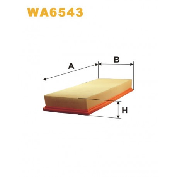 FILTRO DE AIRE WA6543