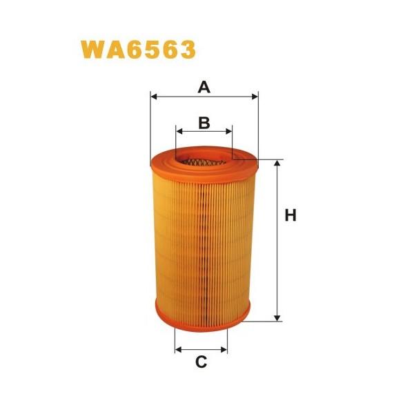 FILTRO DE AIRE WA6563