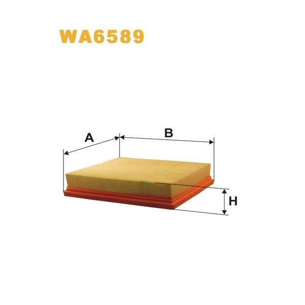 FILTRO DE AIRE WA6589