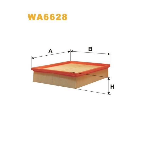 FILTRO DE AIRE WA6628