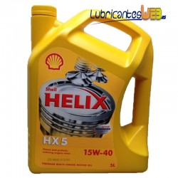 Aceite Shell 15w40 HELIX HX5 5Ltrs