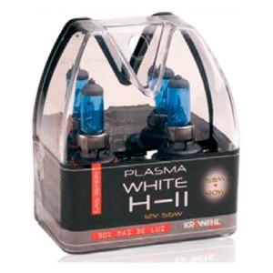 Lampara H-11 Plasma White Estuche 2 Ud.