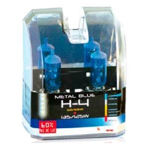 Lampara H4 Metal Blue 60/55W Estuche 2 Ud.