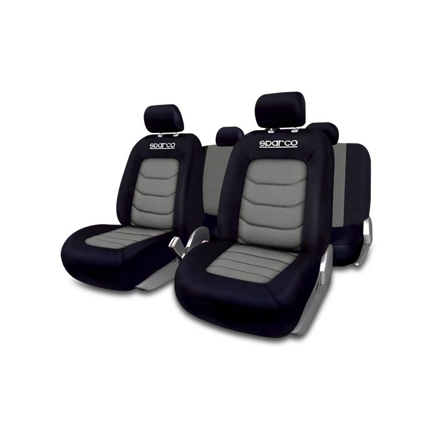 Funda de asiento coche s line gris sparco - Fundas para asientos de coches ...